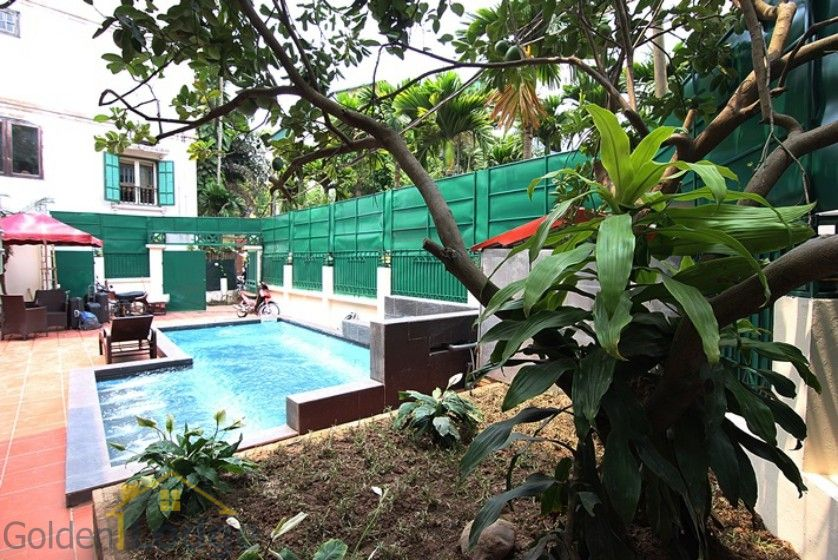 Swimming pool house in To Ngoc Van street, Tay Ho Westlake 3