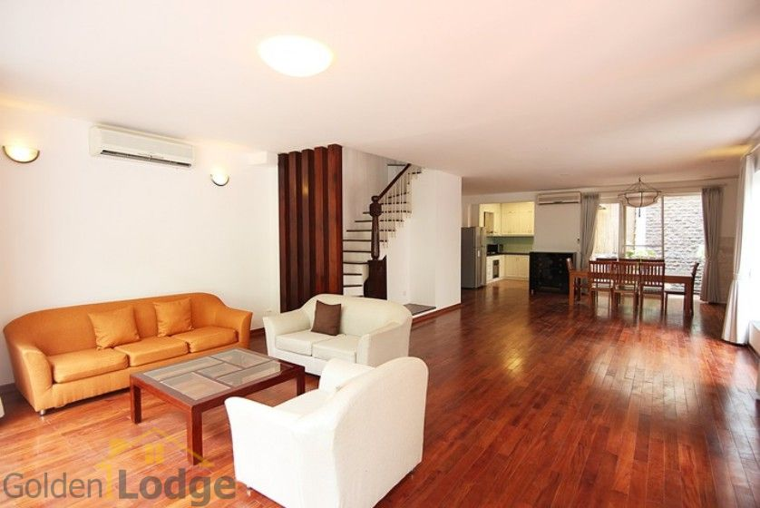 Swimming pool house in To Ngoc Van street, Tay Ho Westlake 7
