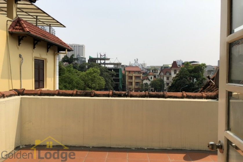 Swimming pool villa in Tay Ho, Hanoi for rent, five bedrooms 16