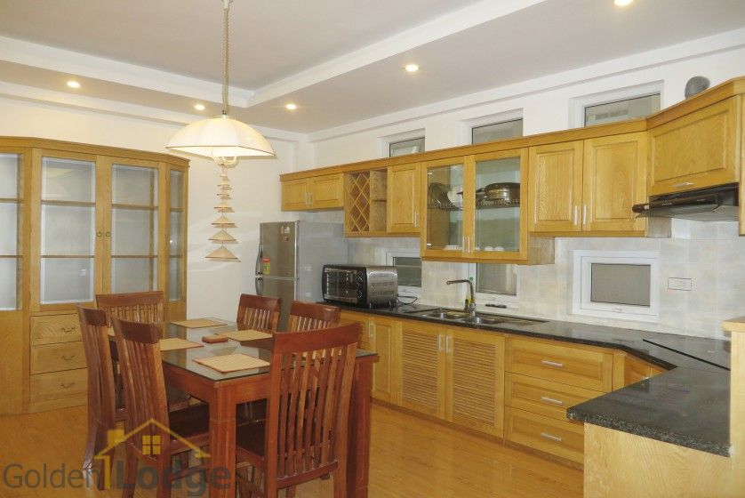 Tay Ho apartment to rent with 2beds 2 baths near Water park 4