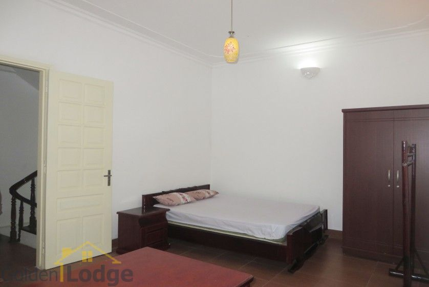 Large yard Tay Ho house rental with four bedrooms fully furnished 14