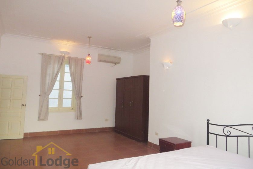 Large yard Tay Ho house rental with four bedrooms fully furnished 17