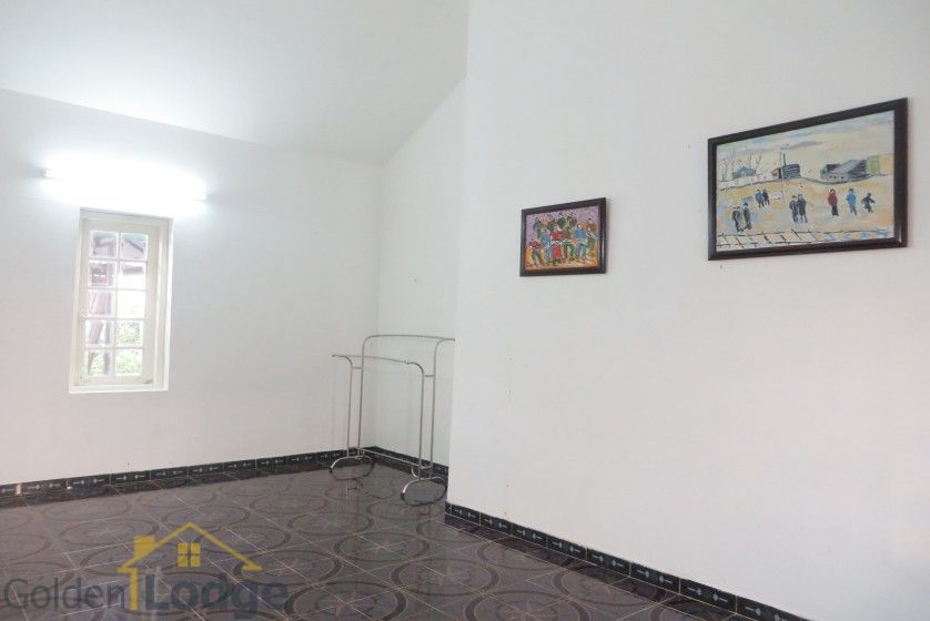 Large yard Tay Ho house rental with four bedrooms fully furnished 22