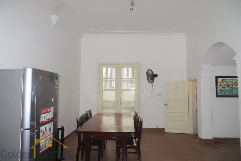 Large yard Tay Ho house rental with four bedrooms fully furnished 7