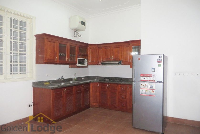 Large yard Tay Ho house rental with four bedrooms fully furnished 8