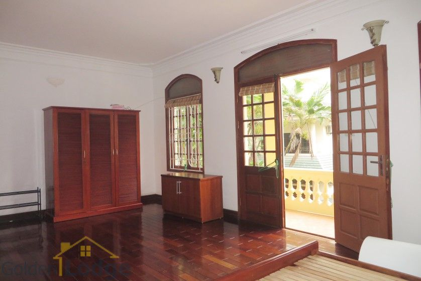 Tay Ho house rental with furnished composed 4 beds garden 10