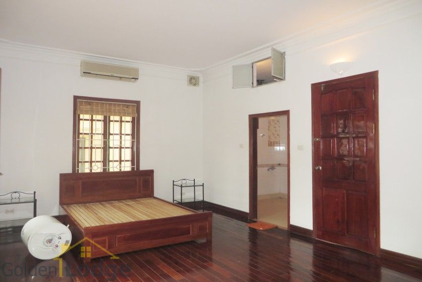 Tay Ho house rental with furnished composed 4 beds garden 12