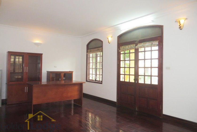 Tay Ho house rental with furnished composed 4 beds garden 18