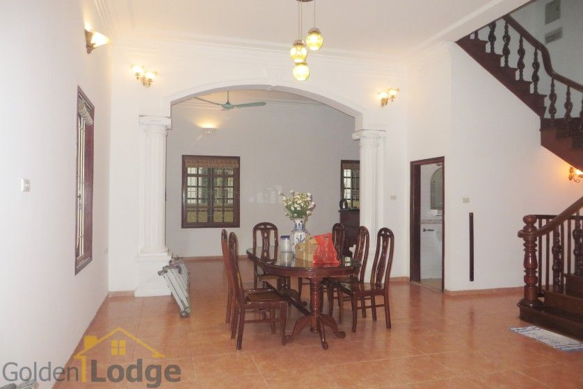 Tay Ho house rental with furnished composed 4 beds garden 4