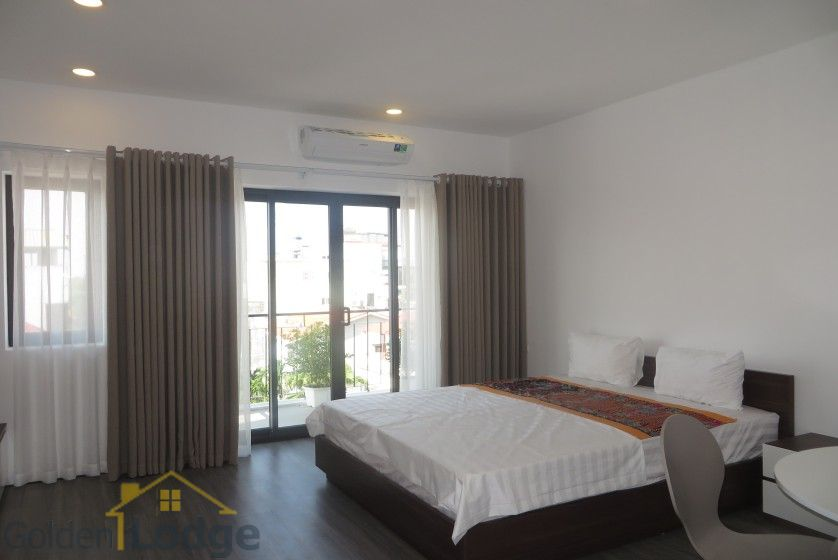 Tay Ho studio apartment for rent with 1 shower room furnished 6