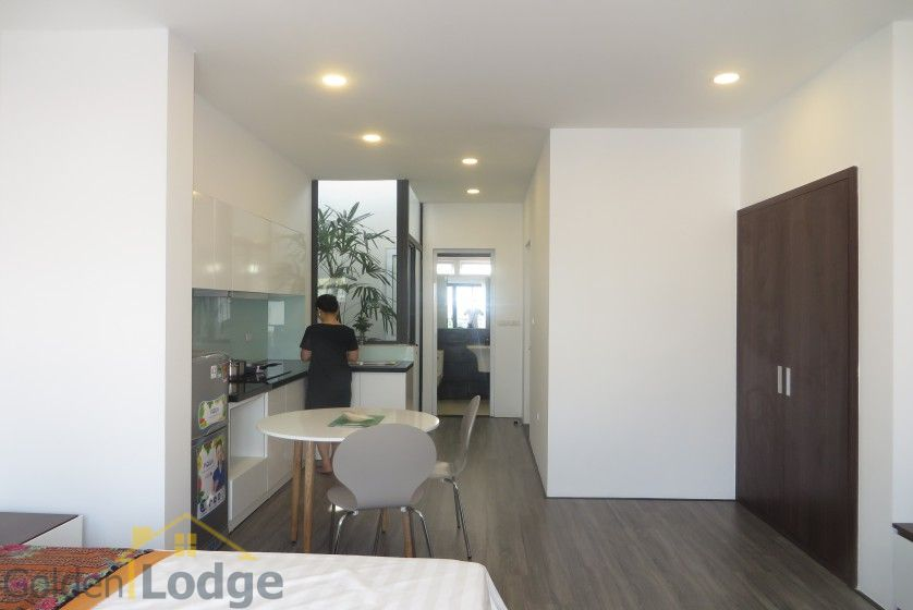 Tay Ho studio apartment for rent with 1 shower room furnished 9