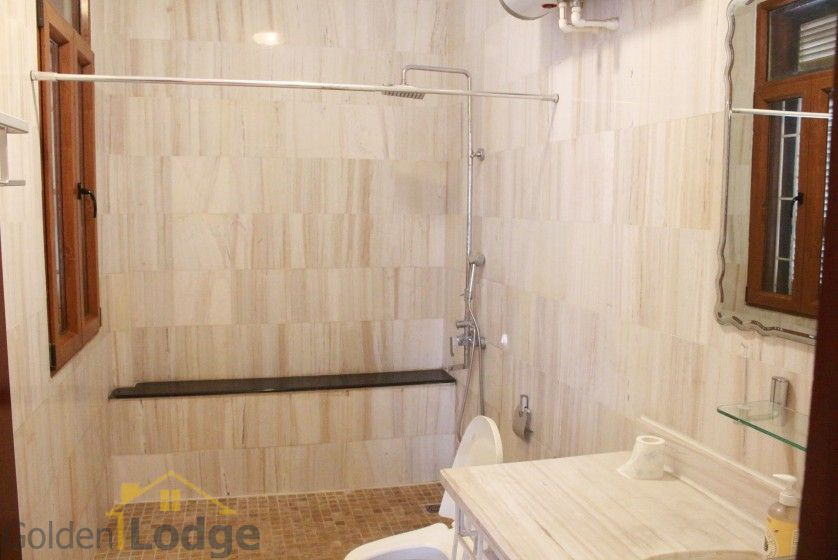 Terraced house in Tay Ho district for rent with swimming pool 14