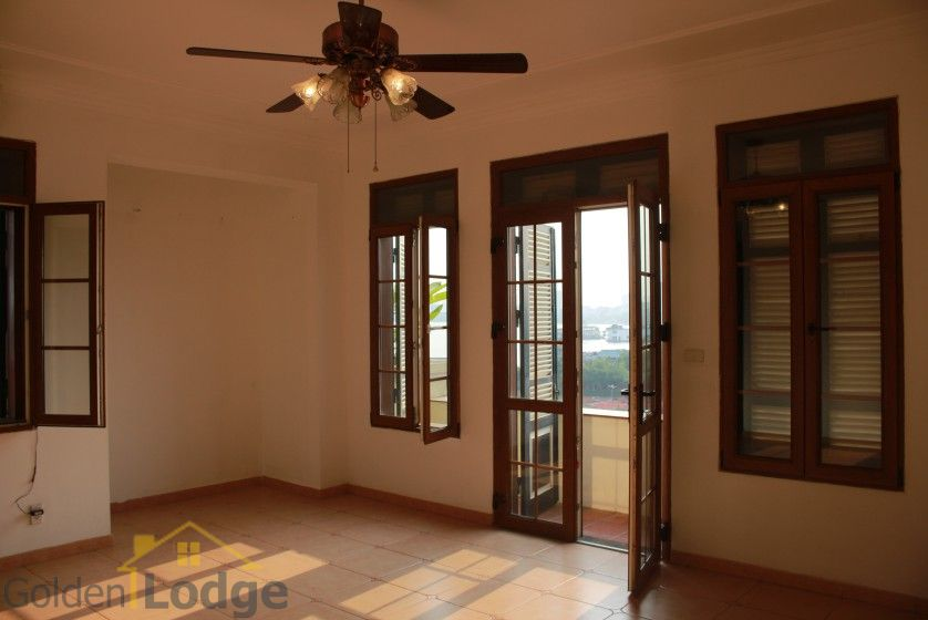 Terraced house in Tay Ho district for rent with swimming pool 24