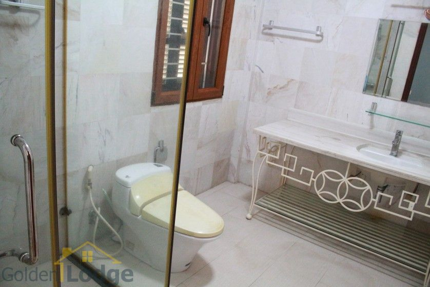 Terraced house in Tay Ho district for rent with swimming pool 29