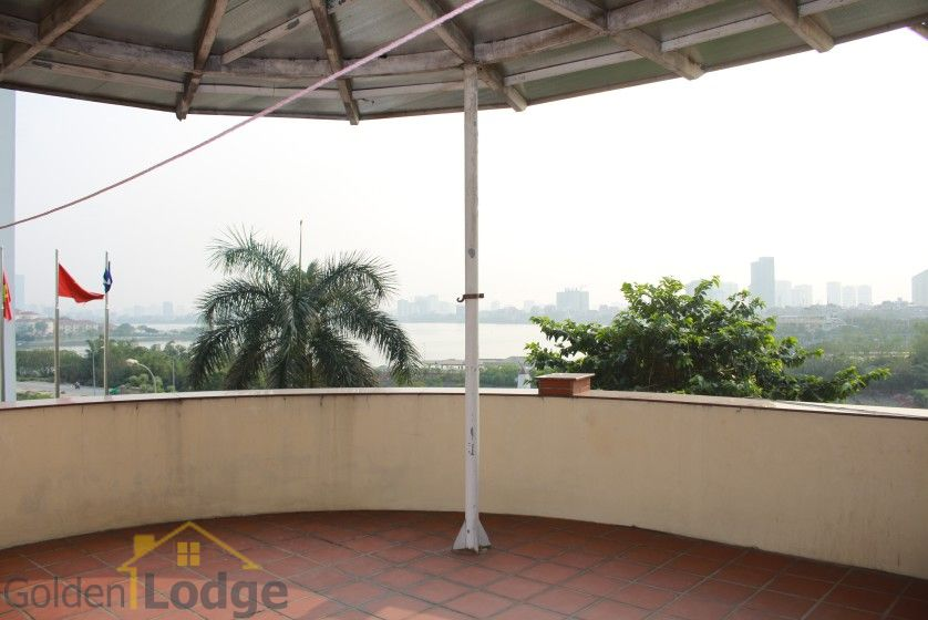 Terraced house in Tay Ho district for rent with swimming pool 30