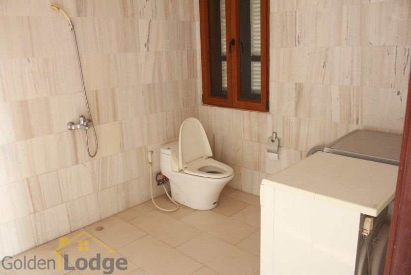 Terraced house in Tay Ho district for rent with swimming pool 31