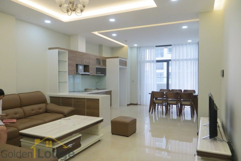 Trang An Complex apartment with 2 bedrooms and 1 small room 2