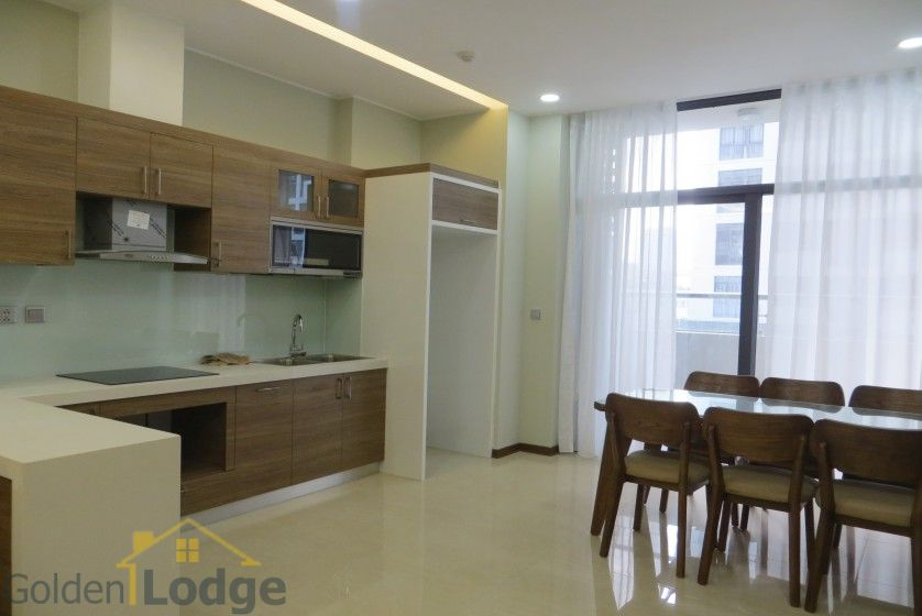 Trang An Complex apartment with 2 bedrooms and 1 small room 4