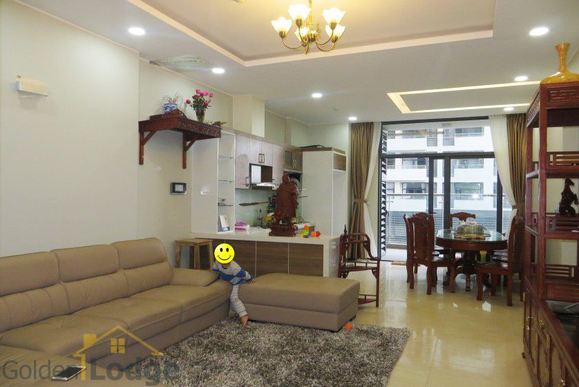 Trang An Complex apartment with 2 bedrooms, fully furnished, 87m2 1