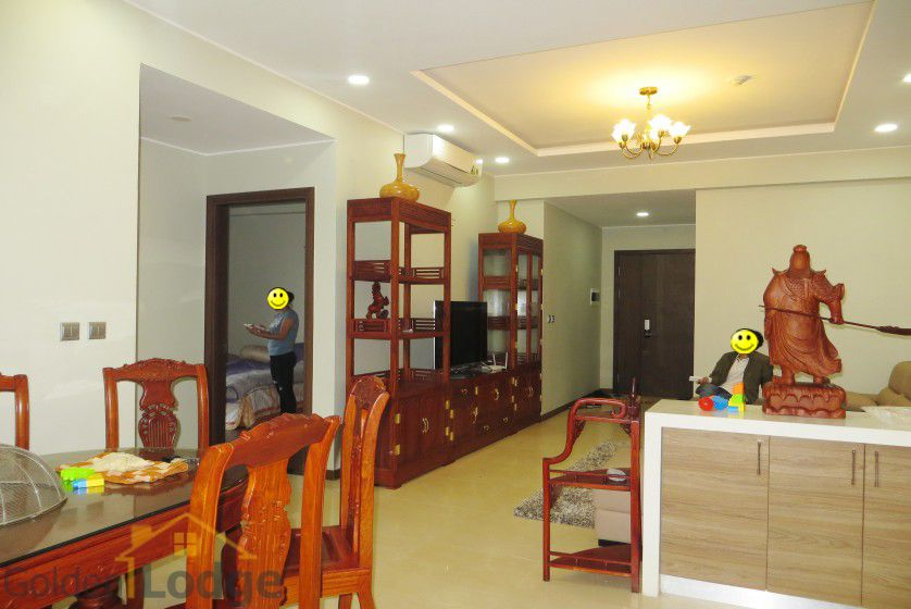 Trang An Complex apartment with 2 bedrooms, fully furnished, 87m2 2