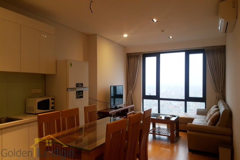 Modern two bedroom apartment in Mipec Riverside Long Bien for rent 2