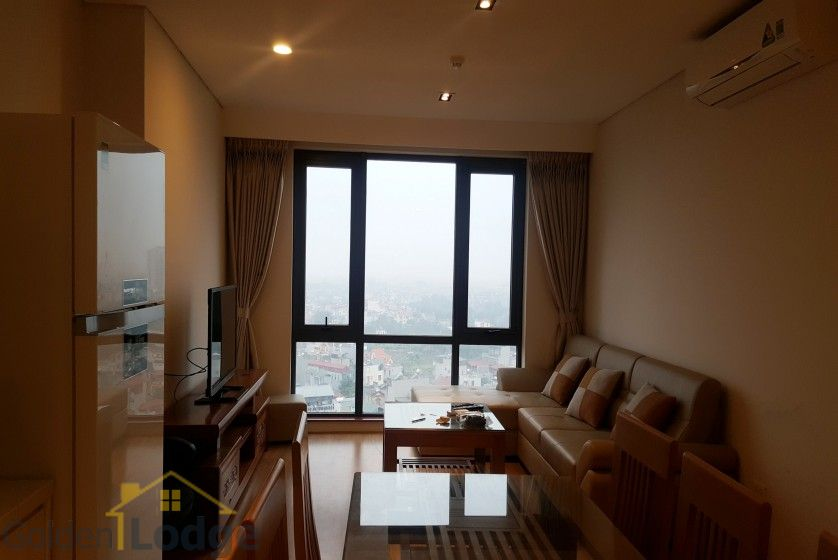 Modern two bedroom apartment in Mipec Riverside Long Bien for rent 3