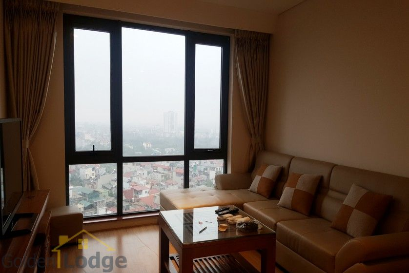 Modern two bedroom apartment in Mipec Riverside Long Bien for rent 4