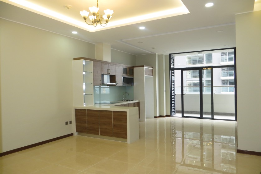 Unfurnished apartment rental in Trang An Complex 3 bedrooms, park view