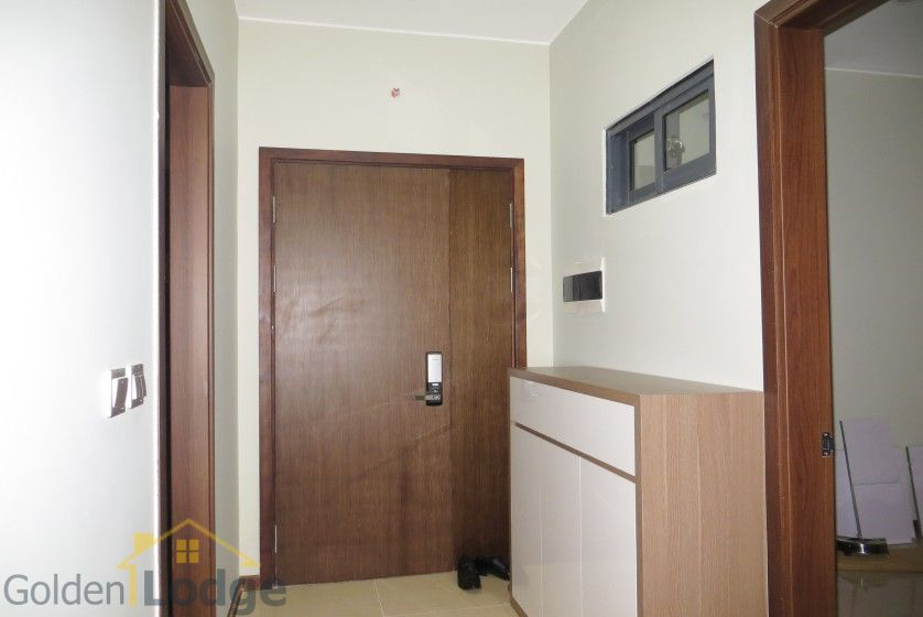 Unique 2 + 1 bedroom apartment rental in Trang An Complex furnished 1