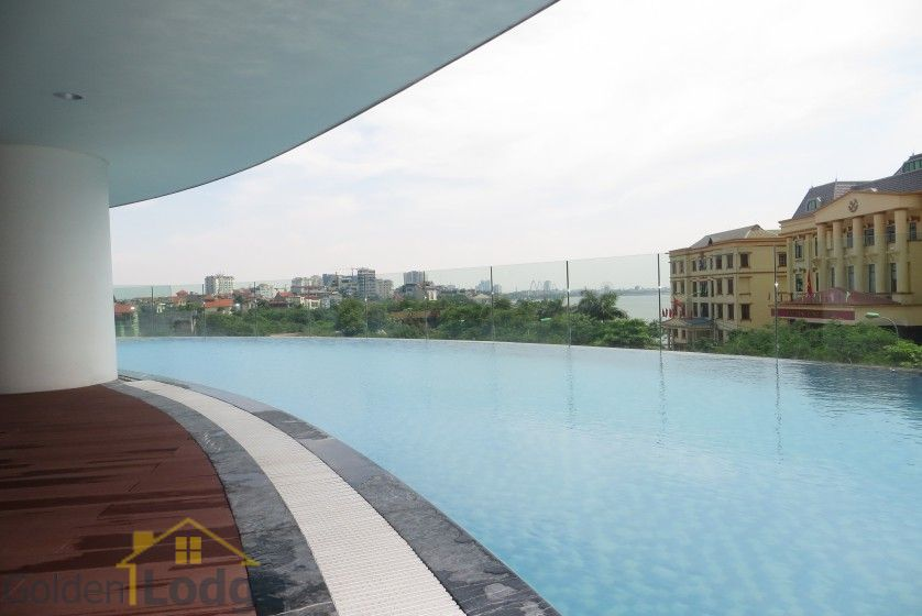 Watermark Hanoi 02 bedroom apartment for rent 86m2 16
